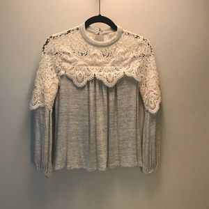 ALTER'D STATE LACE SWEATER